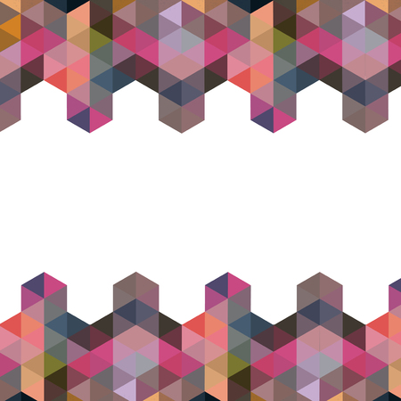 scuff: Triangle Pattern, Background, Texture Vector Hexagon, Space for text