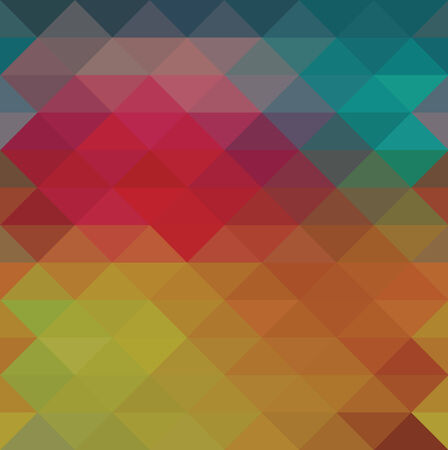 Triangle neon seamless background, pattern, geometric Illustration