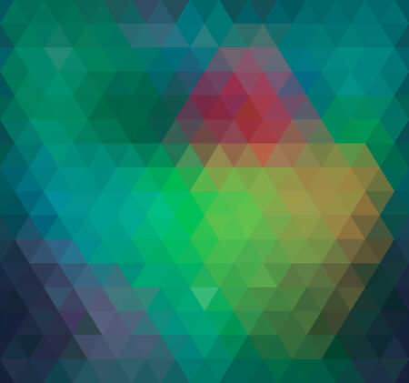 Geometric Triangle Neon Seamless background, pattern, vector