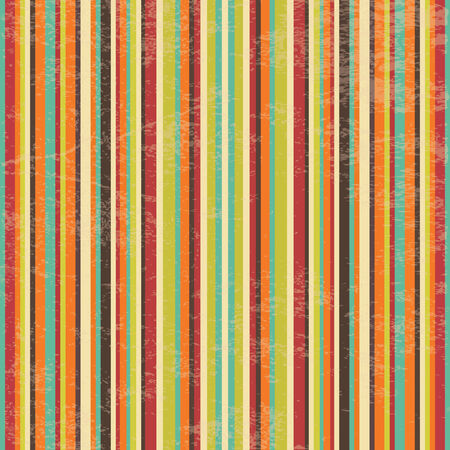 Vector Seamless Geometric Striped Background with Grunge Texture, Hipster Style, Seamless Pattern, Illustratuon