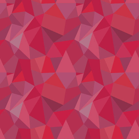 Seamless Geometric Polygonal Pattern, Background Vector