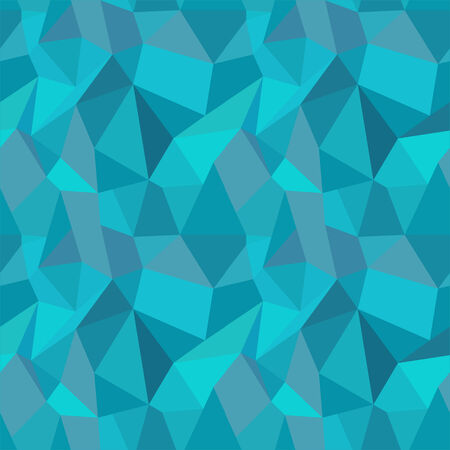 80's: Seamless Geometric Polygonal Pattern, Background Illustration