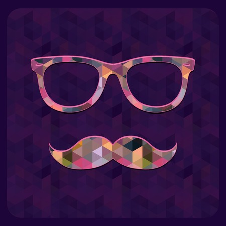 disguise: Hipster Icon  Illustration