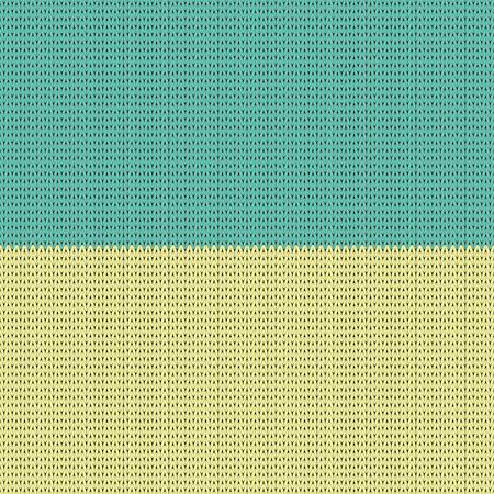 national colors: Ukrainian national colors  Flag  knitting pattern  Illustration Illustration
