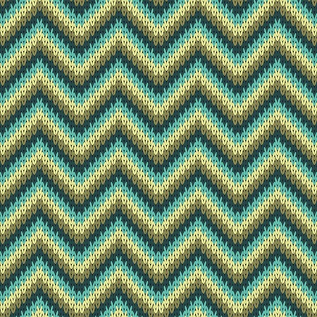 Seamless Zigzag Knitting Pattern Royalty Free Cliparts Vectors And