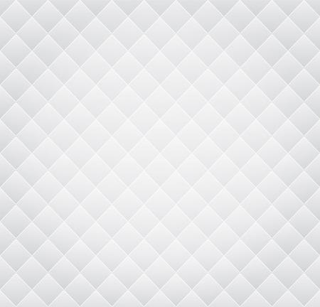 Vector White Leather Vintage Naadloze Achtergrond van het Patroon
