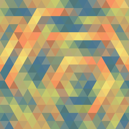 scuff: Seamless Triangle Pattern, Background, Texture Vector Geometric