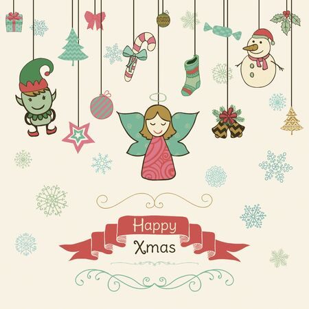 10,705 Christmas Fairy Stock Illustrations, Cliparts And Royalty ...