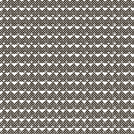 webbing: Abstract Black Hand Sketched Scribble Seamless Background Pattern with Triangles. Vector Illustration. Pattern Swatch. Ink Drawing. Texture