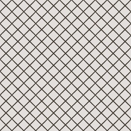 seamless texture: Abstract Black Hand Sketched Diagonal Striped Grid Seamless Background Texture Pattern. Vector Illustration. Pattern Swatch. Ink Drawing