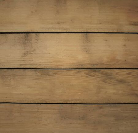 planking: Brown Rustic Wooden Background Texture. Vector Illustration.