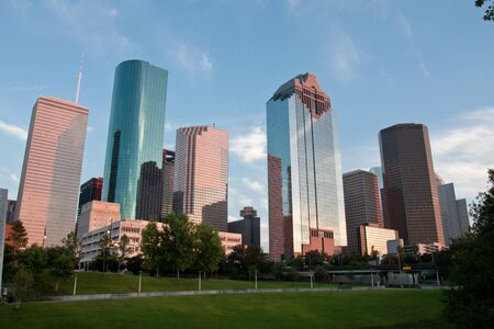 Down Town Houston - Skyline Stock Photo - 9393763