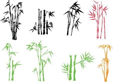 japones bambu: ramilla de bamb�