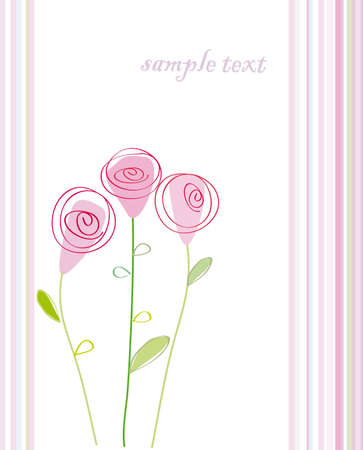 rose bud: Romantic Flower Background