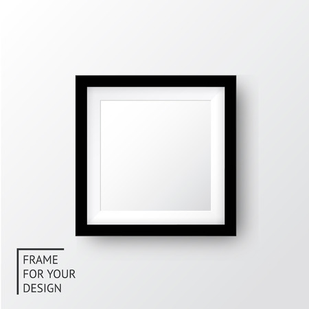 simple frame: Realistic picture frame