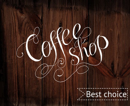 coffee shop: Template of coffee shop