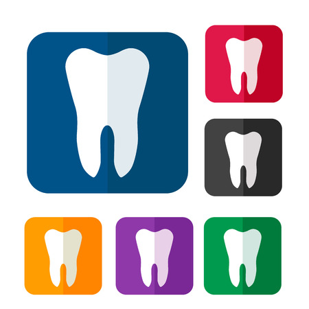 tooth icon: Tooth icon set