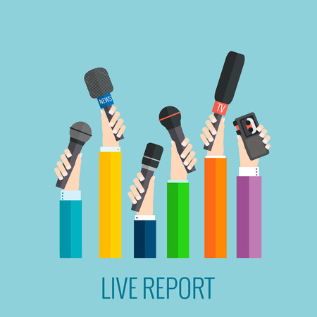 voice recorder: live report