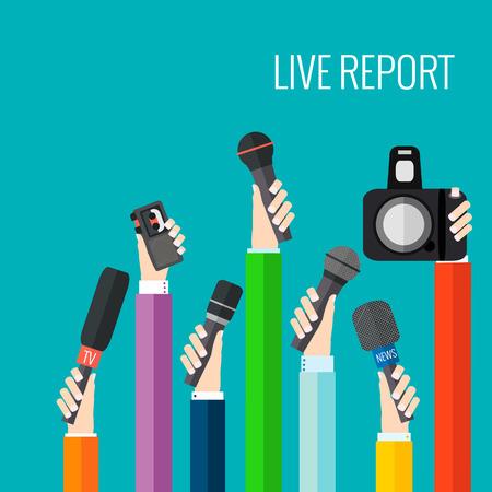 live-verslag