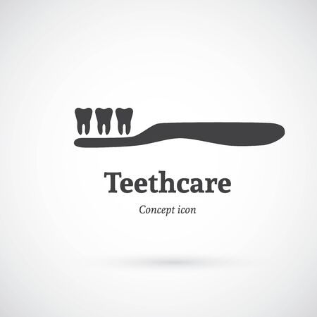 care: Tooth care concept icon