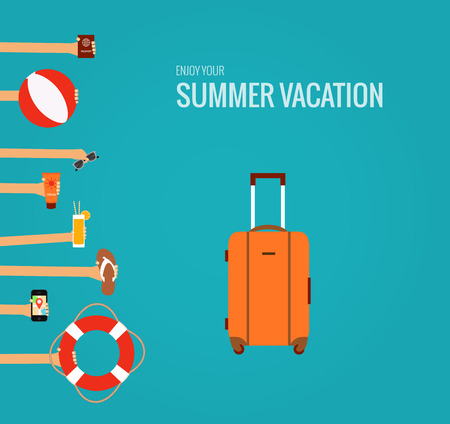 in the summer: summer travel