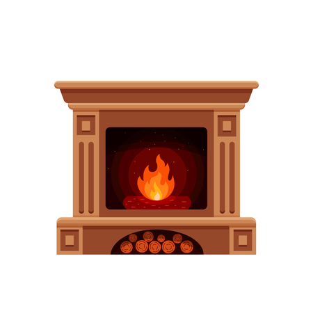 stone fireplaces rustic style arch 879 stone fireplace stock illustrations cliparts and royalty free