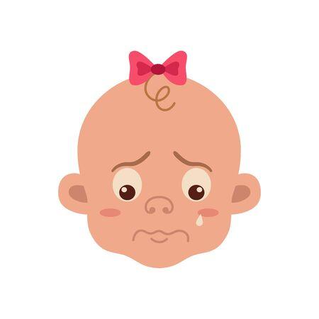 Baby facial expression Stock Photo