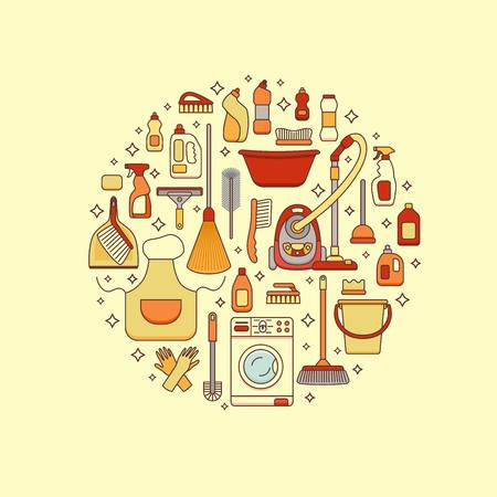 Huishoudelijke schoonmaakproducten