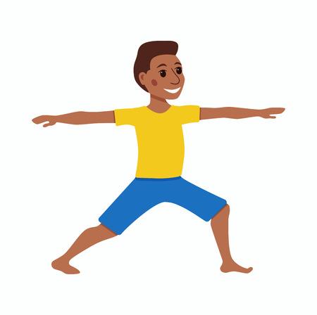 joga: Cute cartoon gymnastics for children