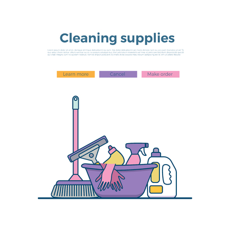 wipe: Household cleaning supplies