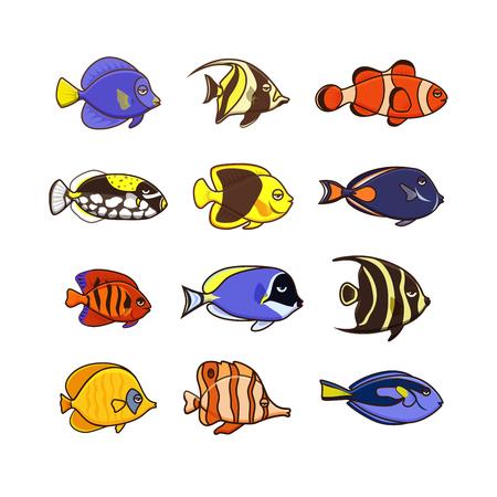 School of fish icon.