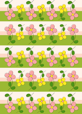 Floral pattern Stock Vector - 5100078
