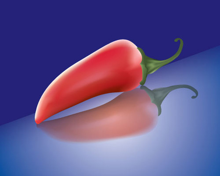 pimento: Pepper. Look through my portfolio to find more images of the same series Illustration