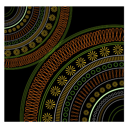 ethnic pattern:   Ethnic Pattern. Look through my portfolio to find more images of the same series Illustration