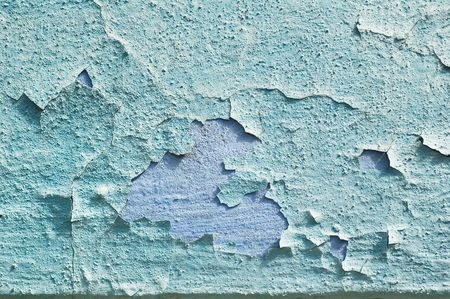 Weathered damaged old painted wall Stock Photo - 7530757