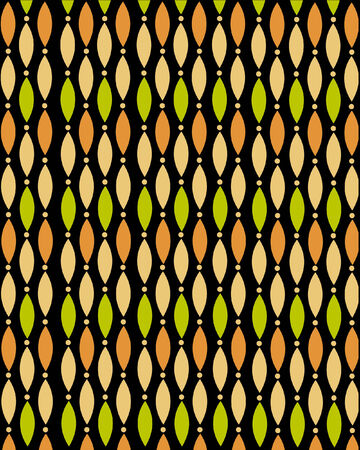yellow african: African pattern