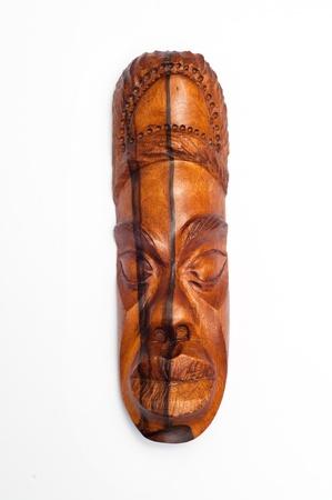 artifact: Handmade antique cuban mask