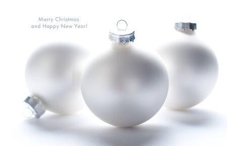 christmas bulbs: Christmas bal Stock Photo
