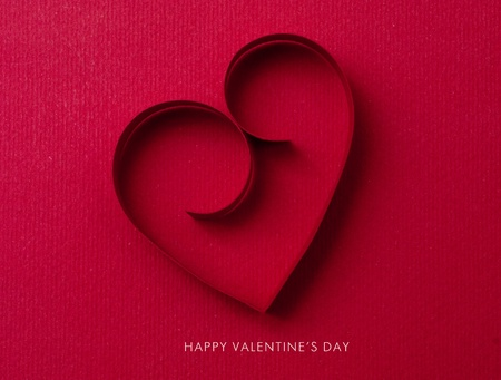 Holiday Card. Valentines day Stock Photo - 12184167