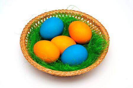 Decorated easter eggs 版權商用圖片