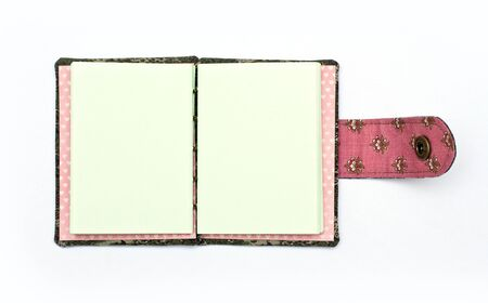 Handmade note book. Look through my portfolio to find more images of the same series 版權商用圖片