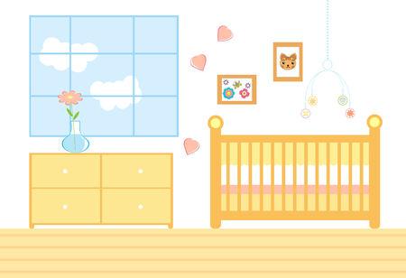 Chambre pour un nouveau bébé