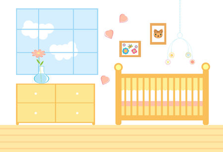 Room for a new baby Stock Vector - 6402911