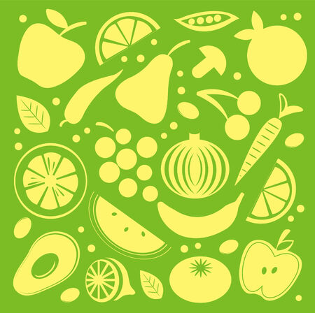 Juicy pattern Vector