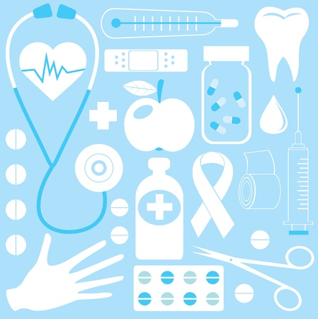 Medical pattern Stock Vector - 11600891