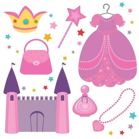 princesa: Princesa conjunto Vectores