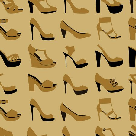 Shoes seamless background