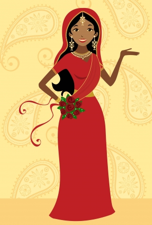 red indian: Indian bride