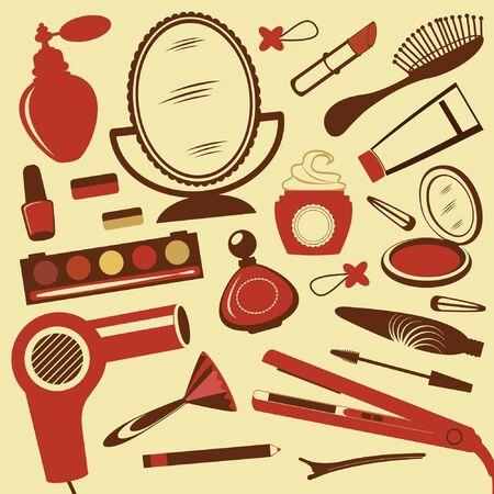 make up brush: Belleza conjunto
