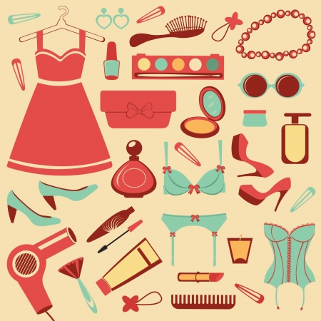 Fashionable set Stock Vector - 13959347